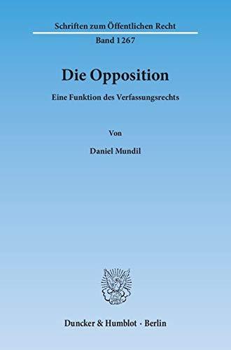 Die Opposition: Daniel Mundil