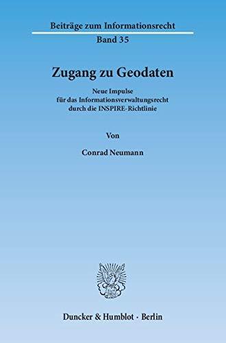 Zugang zu Geodaten: Conrad Neumann