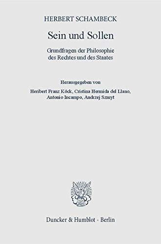 Sein und Sollen: Herbert Schambeck