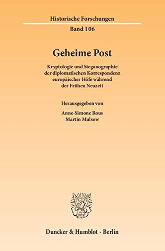 9783428144174: Geheime Post.