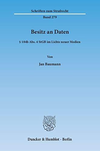 Besitz an Daten: Jan Baumann