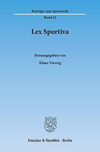 Lex Sportiva.
