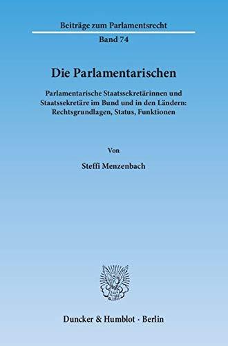 Die Parlamentarischen.: Steffi Menzenbach
