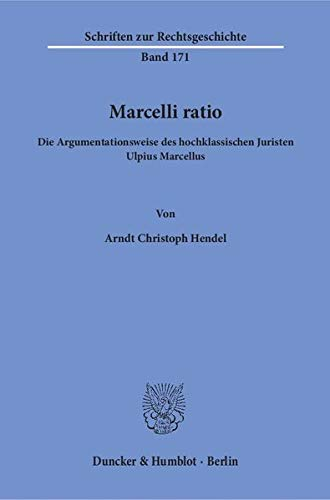 Marcelli ratio: Arndt Christoph Hendel