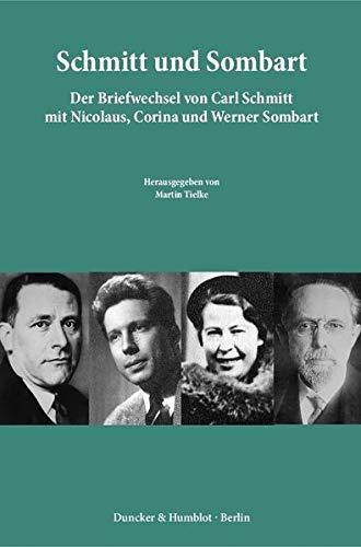 9783428147069: Schmitt und Sombart.