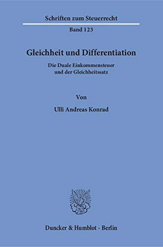Gleichheit und Differentiation: Ulli Andreas Konrad