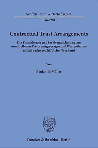 Contractual Trust Arrangements.: Benjamin M�ller