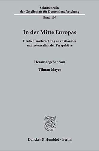 In der Mitte Europas: Tilman Mayer