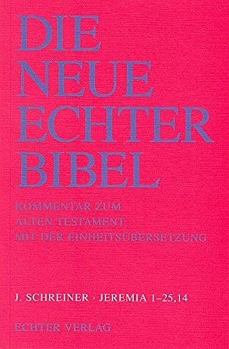 9783429007294: Jeremia I. 1 - 25,14. (3. Lieferung)