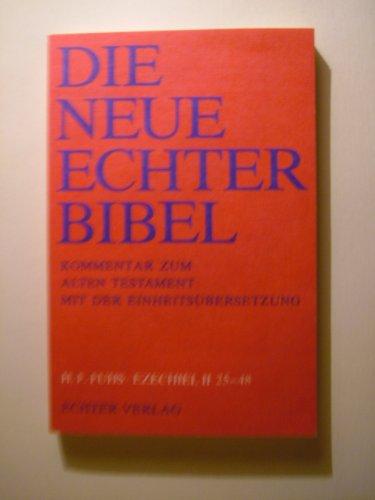 9783429011376: Die Neue Echter-Bibel. Altes Testament. Ezechiel II 25 - 48