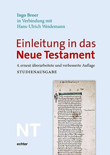 9783429028466: Einleitung in das Neue Testament: Studienausgabe