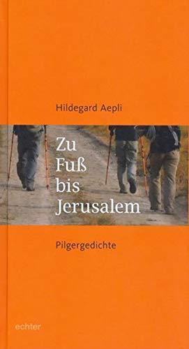 9783429035365: Zu Fuß nach Jerusalem: Pilgergedichte