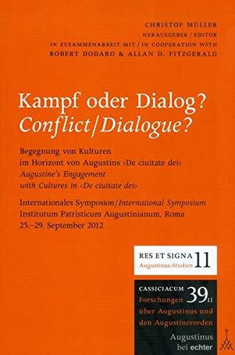 9783429041885: Kampf oder Dialog?