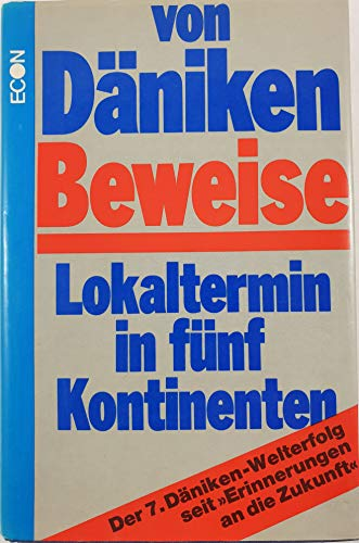 9783430119825: Beweise: Lokaltermin in funf Kontinenten (German Edition)
