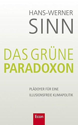9783430200622: Das gr�ne Paradoxon
