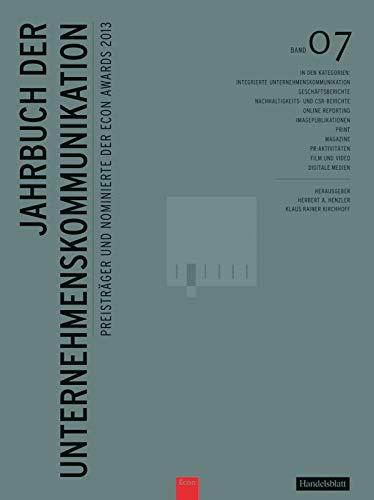 Jahrbuch der Unternehmenskommunikation 2013: Herbert Henzler