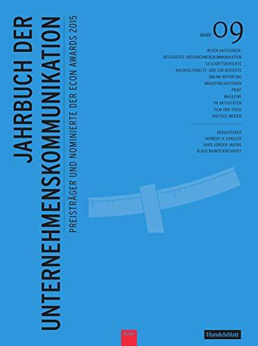 Jahrbuch der Unternehmenskommunikation 2015: Band 09: Henzler Prof. Dr.
