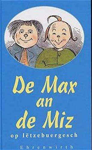 9783431035919: De Max an de Miz op letzebuergesch