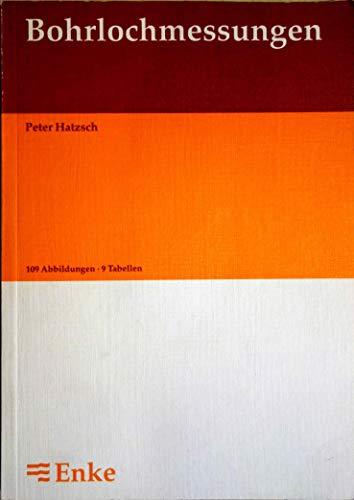 9783432263717: Bohrlochmessungen