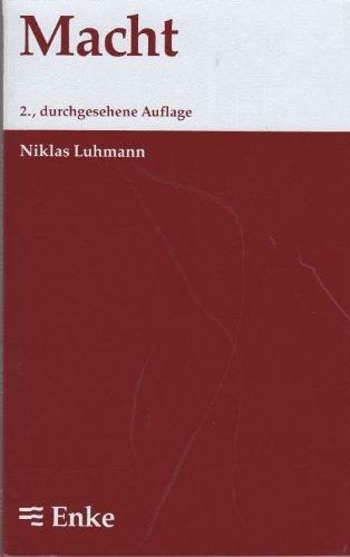 Macht: Luhmann, Niklas