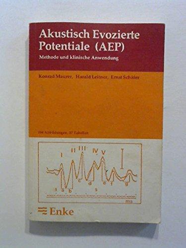 9783432929019: Akustisch Evozierte Potentiale (AEP). Methode und klinische Anwendung