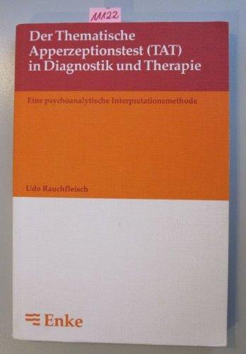 9783432977515: Der Thematische Apperzeptionstest (TAT) in Diagnostik und Therapie