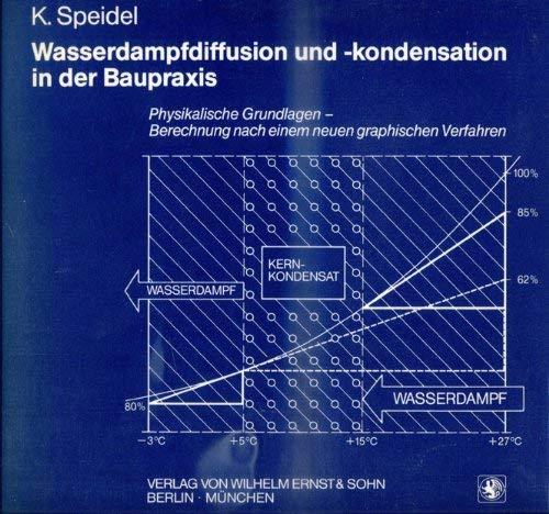 9783433008652: Wasserdampfdiffusion und -kondensation in der Baupraxis. Physikalische Grundlagen - Berechnung nach einem neuen graphischen Verfahren