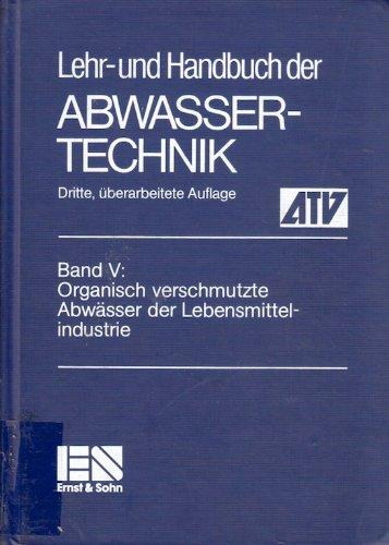 9783433009062: Lehr- Und Handbuch Der Abwassertechnik V 5 3ed