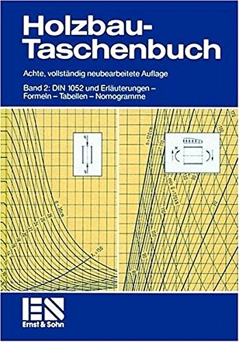 9783433010679: Holzbau-Taschenbuch Band 2 8a - Din 1052 Und Erlauterungen