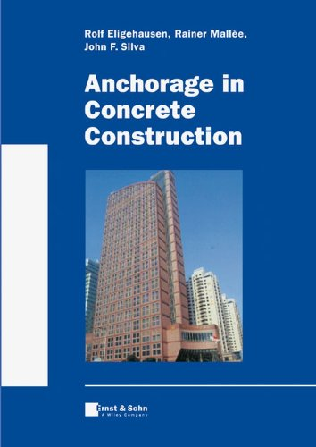 9783433011430: Anchorage in Concrete Construction