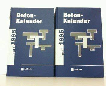 9783433014134: Beton-Kalender 1995 Part 1 - 2