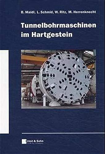 9783433014530: Tunnelbohrmaschinen Im Hartgestein