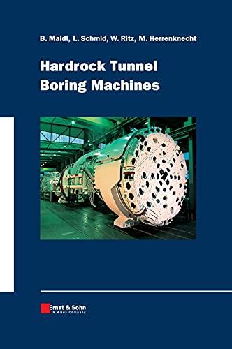 9783433016763: Hardrock Tunnel Boring Machines