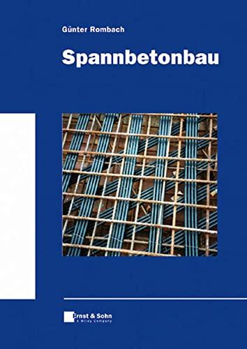 9783433025352: Spannbetonbau (German Edition)