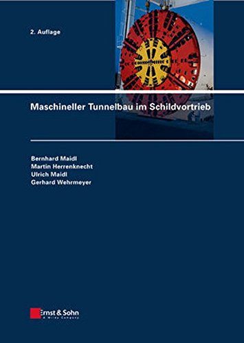 9783433029480: Maschineller Tunnelbau im Schildvortrieb