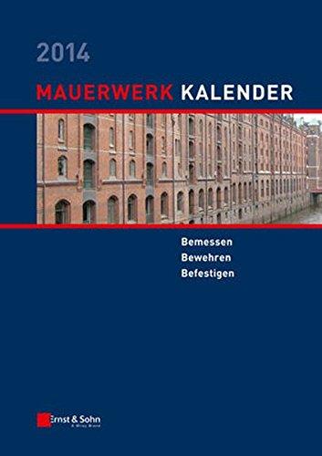 Mauerwerk-Kalender 2014: Wolfram Jäger