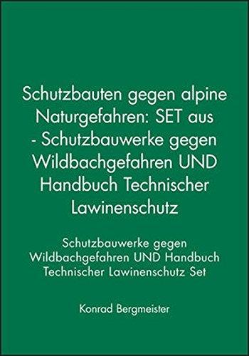 Schutzbauten gegen alpine Naturgefahren, 2 Bde.: Bergmeister, Konrad /