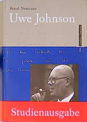 9783434500827: Uwe Johnson. Biographie.