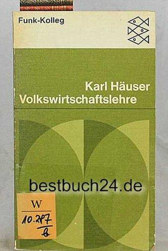 9783436008444: Volkswirtschaftslehre. Funk-Kolleg