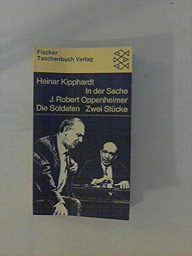 In Der Sache J Robert Oppenheimer Die: Kipphardt, Heinar
