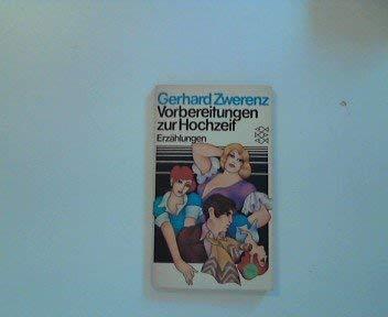 9783436020910: Vorbereitungen zur Hochzeit: Erz�hlungen (Fischer Taschenb�cher)