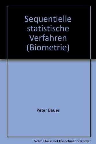 9783437203435: Sequentielle statistische Verfahren (Biometrie)