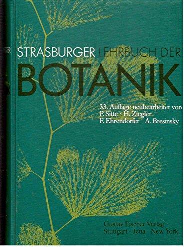Strasburger Lehrbuch der Botanik. - Sitte, Peter; Ziegler, Hubert; Ehrendorfer, Friedrich; Bresinsky, Andreas