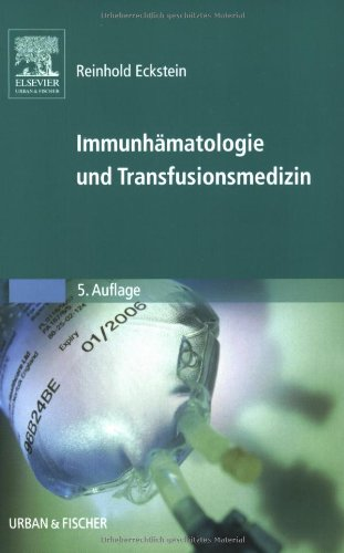 9783437210327: Immunhämatologie und Transfusionsmedizin