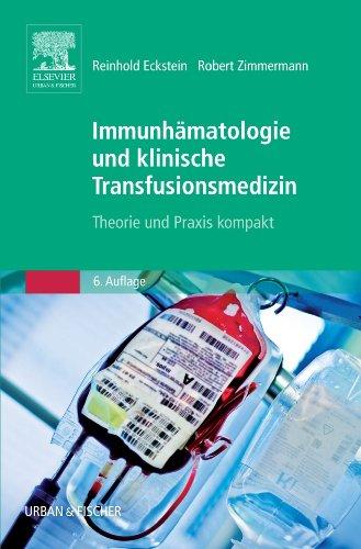 9783437210341: Immunhämatologie und Transfusionsmedizin