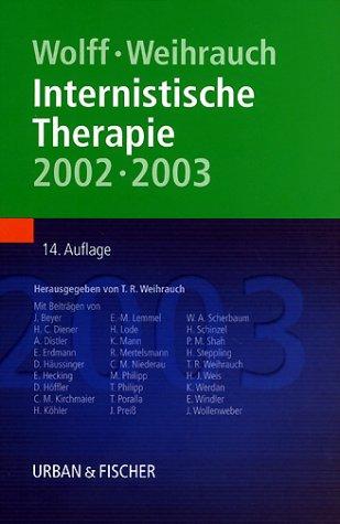 9783437218019: Internistische Therapie 2002/2003.