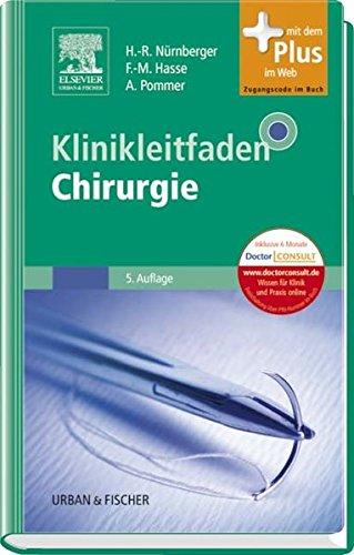 9783437224522: Klinikleitfaden Chirurgie