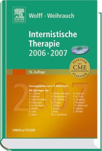 9783437231827: Internistische Therapie 06/07. Buch und CD-ROM. Buch und CD-ROM