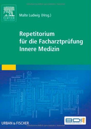 9783437233067: Repetitorium für die Facharztprüfung Innere Medizin