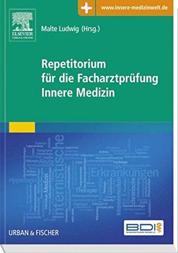 9783437233074: Repetitorium für die Facharztprüfung Innere Medizin